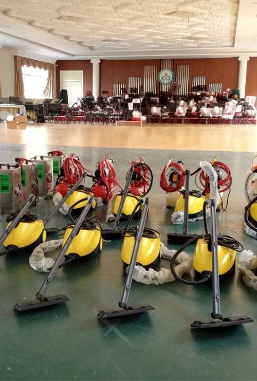 绿创集团施工设备